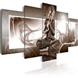 Impression sur toile 100x50 cm - 5 pieces - Image sur toile - Images - Photo - Tableau - motif ...