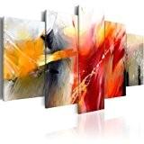 Impression sur toile 200x100 cm - Grand format! - 5 pieces - Image sur toile - Images - Photo - ...