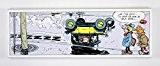 Impression sur toile - Gaston Lagaffe - Verglas. Un produit 100 % belge !