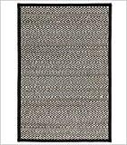 IXIA Regal sa–Tapis de bambou (plusieurs couleurs et tailles)–120x 180cm, noir