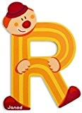 JANOD - Lettre Clown R