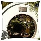 Japanese garden - Throw Pillow Cover Case (16