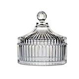 Jar Creative Glass Sucre/Jam / Snack Pot plateau de stockage Jar,A