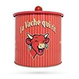 La Vache Qui Rit - Boîte À Cookies Vintage 60'S Rouge