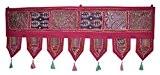 Lalhaveli décoratif porte Motif broderie patchwork tapisseries 100x 40cm