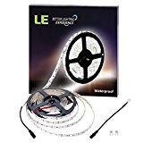 LE 5M 300 LEDs Bande Lumineuse LED Flexible 12V, 720lm/M Ruban Lumineux 5050 SMD, Blanc Lumière du Jour, Etanche IP65, ...