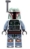 LEGO Star Wars Boba Fett - 9003530 - Réveil Mixte - Quartz Digital - Cadran LCD