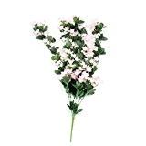 LianLe®70CM Lierre Artificiel Guirlande Feuille de lys Fleur Déco Maison Mariage