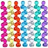 Lictin 56 Aimants Punaises Magnétiques de 7 couleurs, Aimants puissants pour le Frigo, le Tableau Blanc, Réfrigérateurs