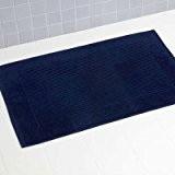 Linens Limited Tapis de bain 100 % coton turc, bleu marine