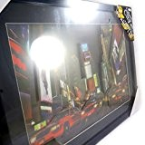 Londres New York Paris [L7837] - Tableau lumineux 'Time Square' 3D led