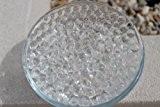 Lot de 10 sachets de perles d'eau pour la décoration de vases de mariage Transparent