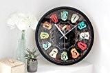 Lozse Rivet, 3D, numérique, horloge murale, creative, mur, wall clock