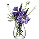 LSA International 9,5 cm Fleur Mini Vase pour petit bouquet, transparent