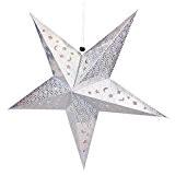 LUFA 30 / 45cm Papier Étoile Brillant Lampshade Decor Craft pour la décoration de mariage Colorful Décor de Noël 30cm ...