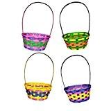 Machine Fun 1x Pâques Tissé Basket-panier de panier-Easter Egg Hunt-couleur au hasard-Multi-color / . . .