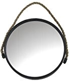 Madam Stoltz Round Mirror by Madam Stoltz Round Mirror