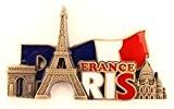 magnet aimant de frigo cuisine souvenir de France Paris métal cadeaux G184132