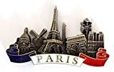 magnet aimant de frigo souvenir de France Paris métal cadeaux G178 (bronze)