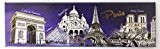 magnet aimant frigo cuisine souvenir France Paris cadeaux MGA13 17X5cm