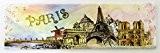 magnet aimant frigo cuisine souvenir France Paris résine cadeaux MGA4 17X5cm