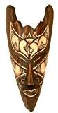 Masque en bois peint de Bali 20 cm