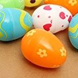 MECO Oeufs de Pâques 12Pcs Easter Eggs Lot d'oeufs en Plastique pour Pâques Mini Oeufs Plastiques Décoration de Pâques Décor ...