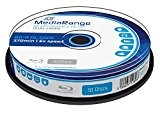 MediaRange MR507 disque vierge Blu-Ray - disques vierges Blu-Ray (Boîte à gâteaux)