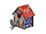 Miho - Décoration murale - Cabane a Oiseaux Countryside (petit modele)