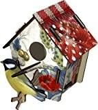 Miho - Décoration murale - Cabane à Oiseaux Poppy Seed (petit modèle)