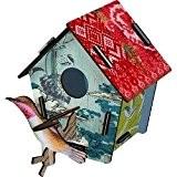 Miho - Décoration murale - Cabane a Oiseaux Takeoff (petit modele)