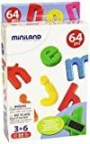 Miniland Vocabulaire - Lettres Minuscules - Magnétiques - 32 mm