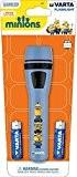 MiniTorcia MINIONS-torche LED 2 piles AA incluses-Couleur : canne à sucre-Longueur 15,5 cm