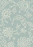 Moderne tapis design Canard VARD Tapis 200 x 290 cm XC06 Scroll Egg Light bleu 100% POLYPROPYLÈNE