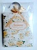 Motif floral parfumé sachets–Lot de 3cintres pour garde-robes–Choisir Lavande/Rose/vanille/Jasmin