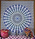 Mur décoratif tapisserie suspension murale mandala hippie Couvre-lit Gypsy Ho...
