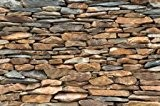 Mur en pierres d ?ardoise Photo imurale - XXL Image murale Exclusif Mur en pierres d ?ardoise –Dimensions by GREAT ...