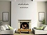 N1239 Foyer du vinyle adhésif, papier peint décoration, Stickers muraux Graphics vinyle Decal