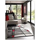 NAZAR BRI659910 Brillance 659 Tapis Matériel Synthétique Rouge 150 x 80 cm