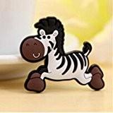 Nouveau animal style sticker de frigo autocollant magnétique jouet éducatif des enfants Zèbre