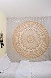 Original Or Ombre Double taille Tapisserie RawyalCrafts Mandala Hippie Tapisserie, Hippie murales Tapisseries Suspensions, Bohême Tapisseries, Reine Mandala Home Decor