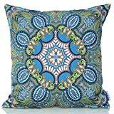 Outdoor Living jolies soleil marocain décoratif Couvre-lit décoratif Housse de coussin Taie d'oreiller canapé, lit, canapé ou Patio–Étui uniquement, sans ...