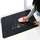 Paillasson, Homecube 16 par 24 pouces tissu paillasson tapis d'entrée pour les tapis de bain antidérapant absorbant propre maison Cute ...