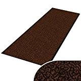 Paillasson sur mesure casa pura® tapis anti poussiere | absorbant | entrée | 7 couleurs, 16 tailles | Brasil, marron ...