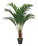 Palmier Areca Plante Arbre Artificielle Artificiel 140cm Decovego