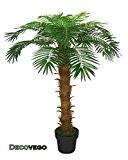 Palmier Cocotier Plante Arbre Artificielle Artificiel Plastique 140cm Decovego