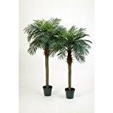 Palmier Phoenix artificiel, 21 palmes, 150 cm - arbre synthétique - artplants
