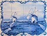 Panneau Mural Peint pour cuisine, salle de bain ,entrée de maison... - 60x45cm (12 carreaux de 15x15cm) – Peinture sur ...