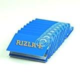 papier à rouler rizla bleu x10