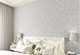 Papier peint chambre à coucher moderne minimaliste chaud non tissé le Salon Wallpapers 0.53m*10m, gris clair